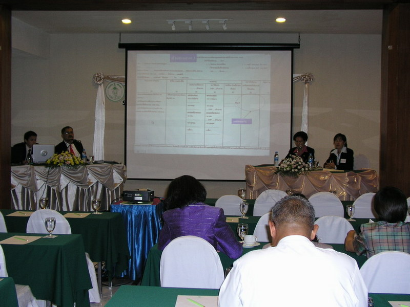 Workshop at Bangkok Metropolitan Administration, Thailand